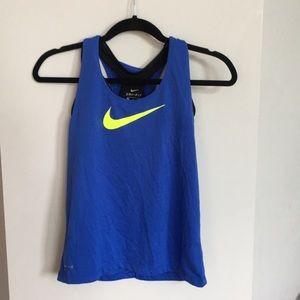 Girls' Nike 2 in 1 Dri-Fit Tank
